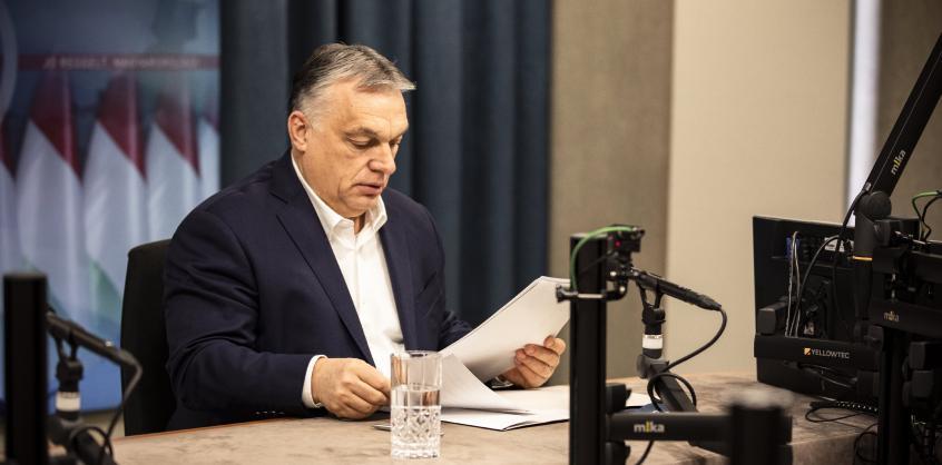 Orbán Viktor: Kötelező lesz az oltás az egészségügyi dolgozóknak