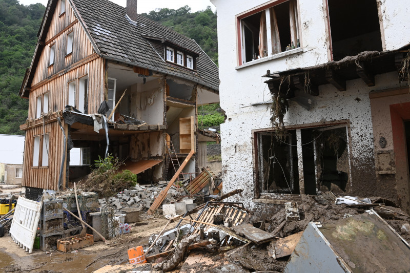 GERMANY-EUROPE-WEATHER-CLIMATE-FLOODS